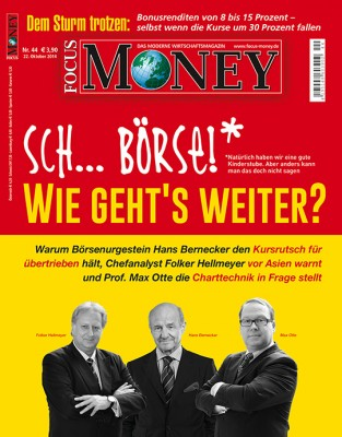 FOCUS-MONEY - aktuelle Ausgabe 44/2014