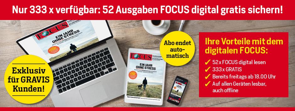 focus digital jahresabo gravis