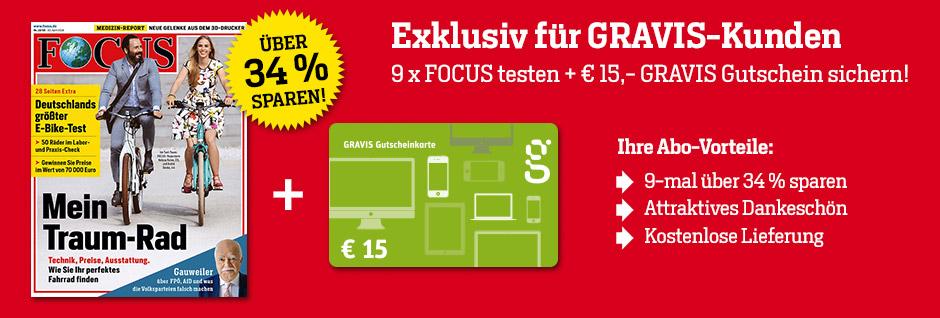 Exklusiv Für Gravis Kunden Focus 15 Gravis