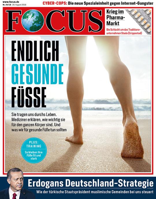 FOCUS - aktuelle Ausgabe 34/2016
