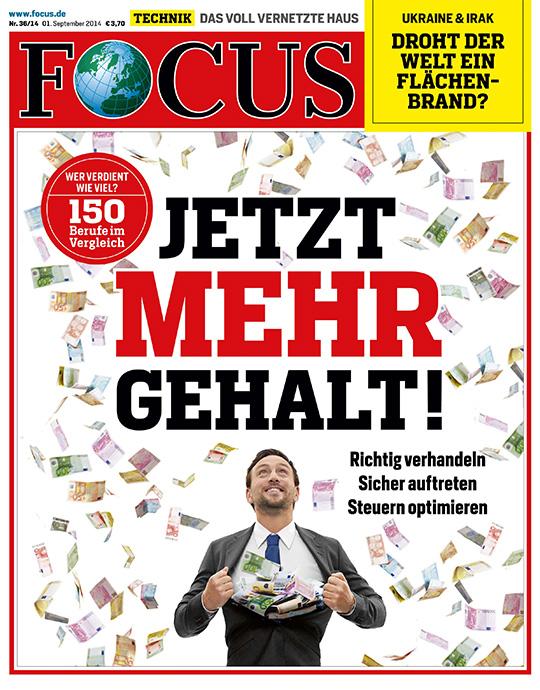 FOCUS - aktuelle Ausgabe 36/2014