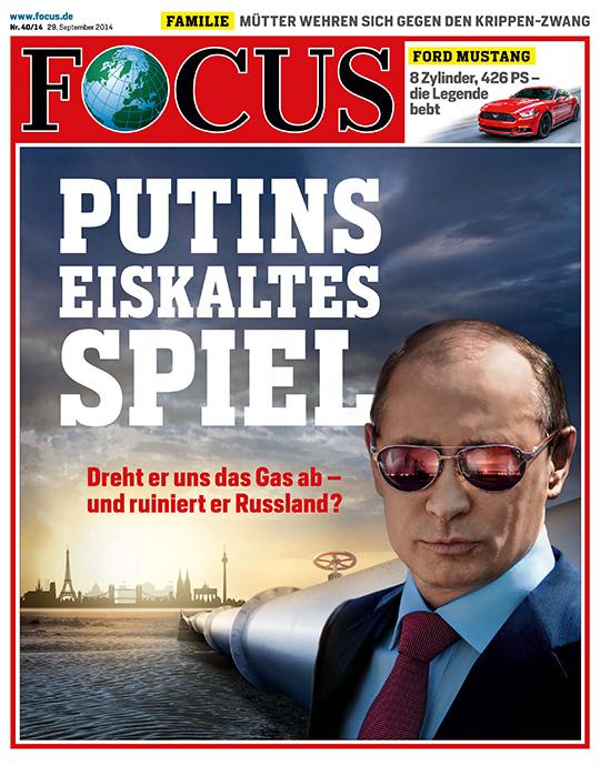 FOCUS - aktuelle Ausgabe 40/2014