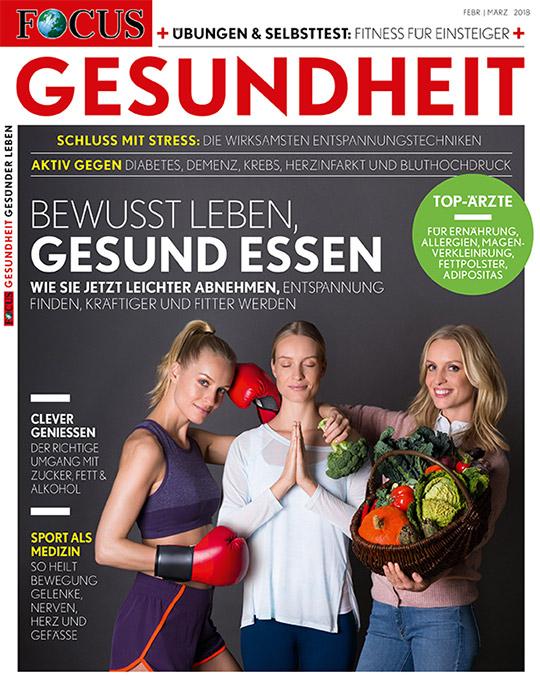 FOCUS GESUNDHEIT - aktuelle Ausgabe 01/2018