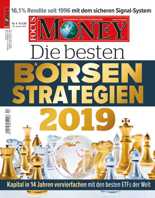 FOCUS-MONEY - aktuelle Ausgabe 02/2019