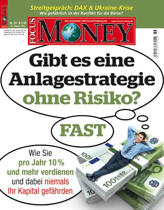 FOCUS-MONEY - aktuelle Ausgabe 36/2014
