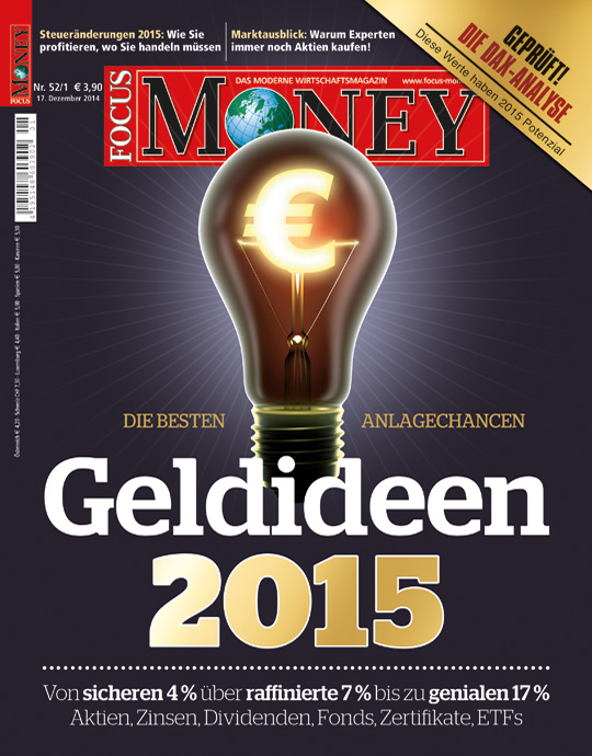 FOCUS-MONEY - aktuelle Ausgabe 52/2014