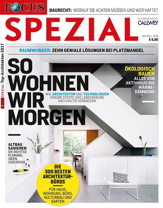 FOCUS-SPEZIAL - Architekten 2016