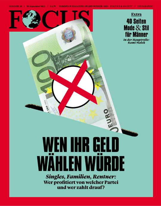 FOCUS - WENN IHR GELD WÄHLEN WÜRDE - aktuelle Ausgabe 38/2021